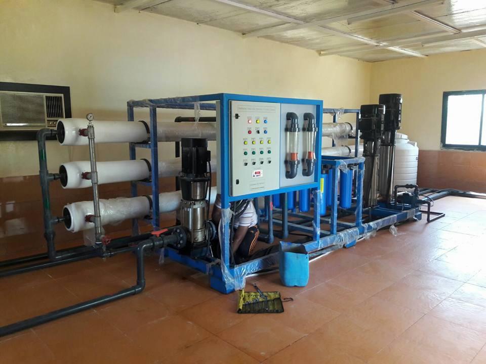 وحدات معالجة وتنقية مياه الصرف الصحى الصناعي