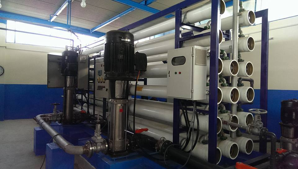 Water treatment units